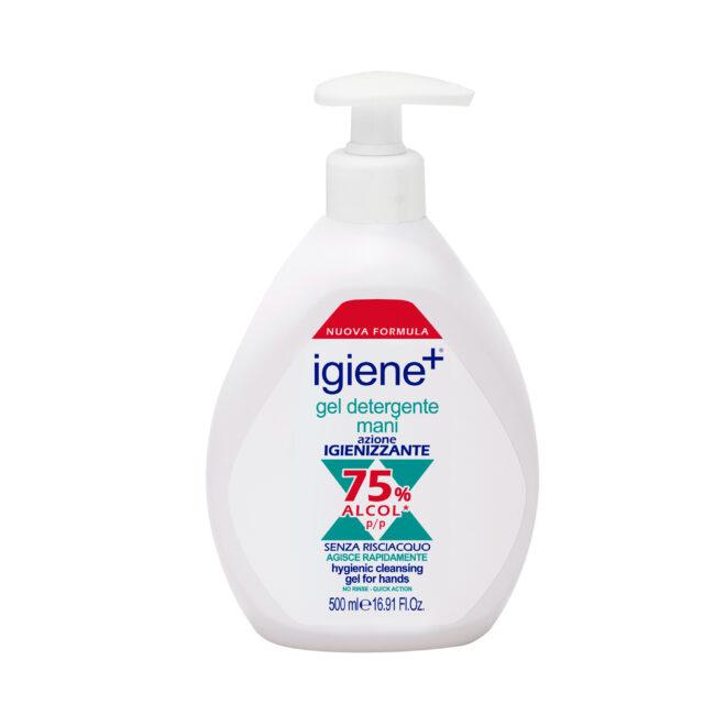 Gel Detergente Mani Igiene+ ad azione igienizzante